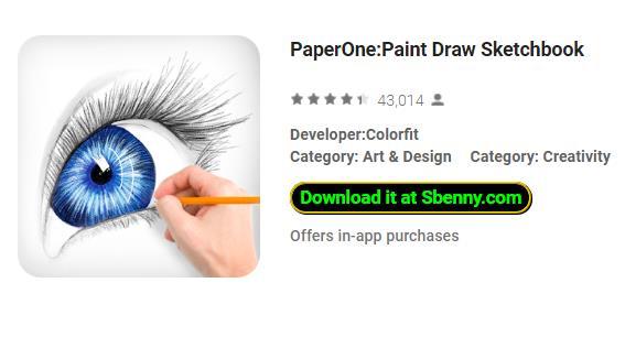 Paperone malen zeichnen Sketchbook