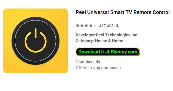Peel Remote App Apk