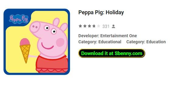 Peppa Schwein Urlaub