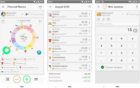 ردیاب هزینه مدیریت مالی شخصی شخصی APK Android