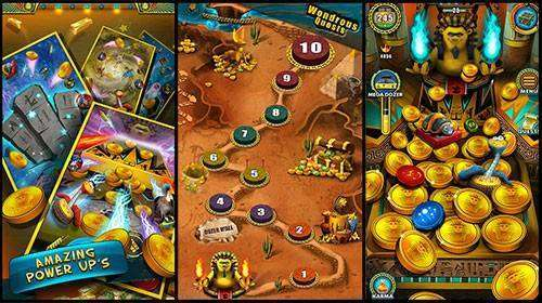 Pharaoh's Party: Coin Pusher MOD APK Android Game Free Download