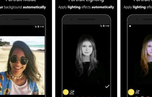 Редактор режима портретной фотографии фокус APK Android