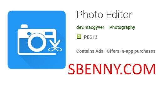 Photo Editor No Ads Mod Apk Free Download