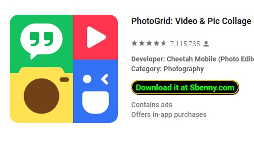 photogrid video and pic collage maker photo editor