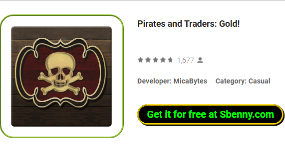 pirates and traders gold
