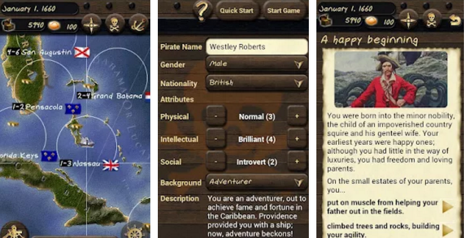 pirates and traders gold APK Android