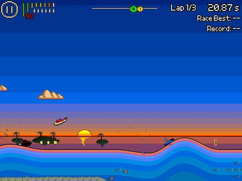 Pixel Boat Rush APK Android Game Free Download
