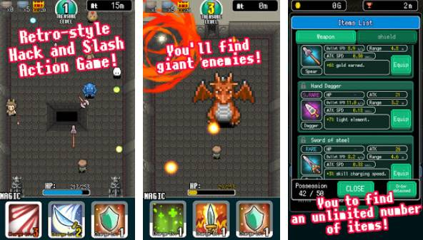 Pixel Dungeon Held APK Android