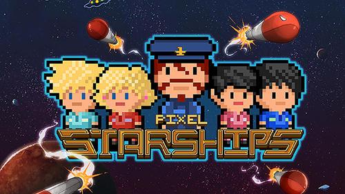 naves espaciais de pixel