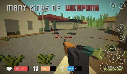 Pixel Z - Gun Día APK MOD Android Descargar gratis