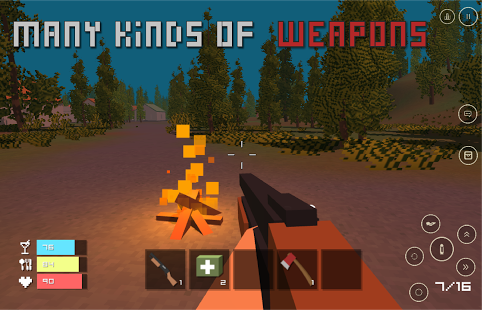 Pixel Z - Unturned day Full APK Android Game Free Download