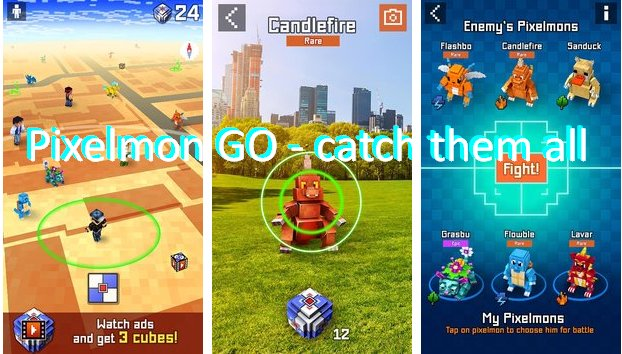 Pixelmon GO - catch them all! MOD APK Android Free Download