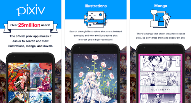 pixiv aPK Android