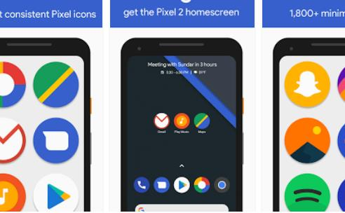 pixel pixel 2 icon pack APK Android