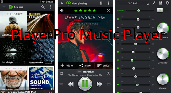 PlayerPro Music Player MOD APK for Android Free Download