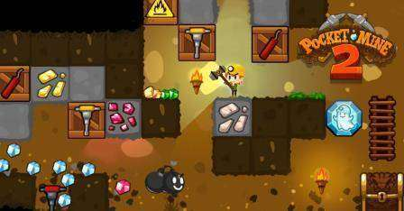Pocket Mine 2 MOD APK Android Game Free Download