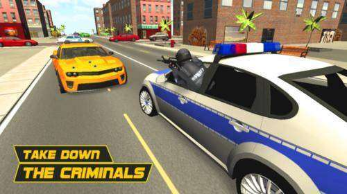 Police Car Chase 3D MOD APK Android Free Download
