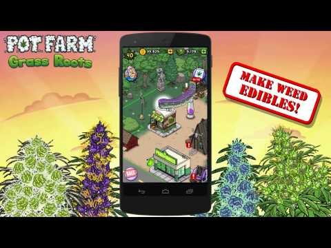 Pot Farm - Grass Roots MOD APK Android Game Free Download