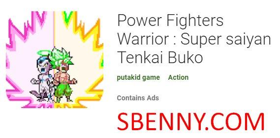 силовые бойцы воин супер саян тенкай буко