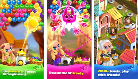 princess pop bubble shooter APK Android