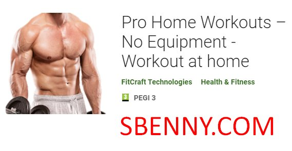 Pro-Home-Training keine Ausrüstung zu Hause