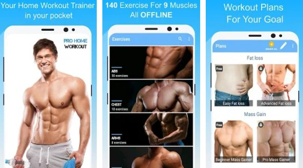 Pro Heimtraining keine Ausrüstung Workout zu Hause APK Android