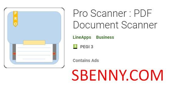 Pro Scanner : PDF Document Scanner