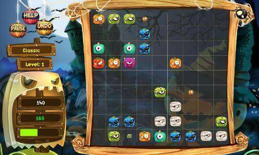 Pumpkin Lines Deluxe APK Android Game Free Download