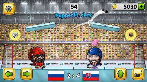 Puppet Ice Hockey: 2015 MOD APK Android Free Download
