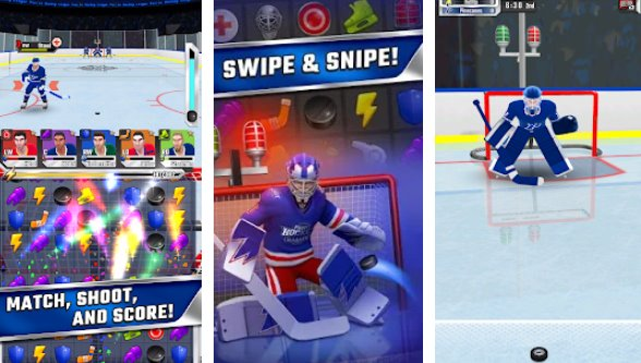 Puzzle Hockey Unlimited Coins Mod Apk Free Download