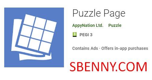 Puzzle Page + MOD