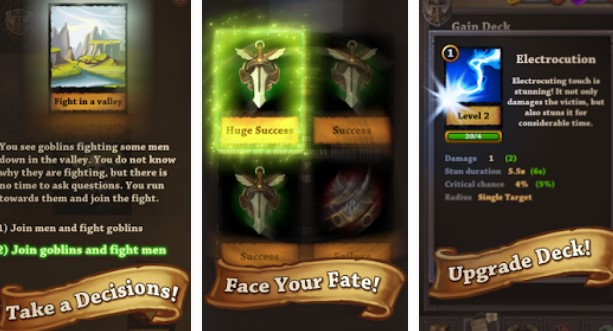 quest cards APK Android