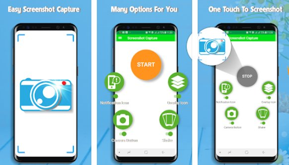 quick capture screenshot easy APK Android