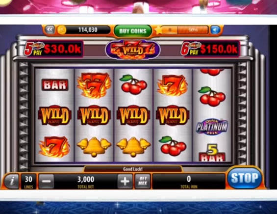 Casino slot machine games online