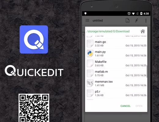 quickedit text editor pro APK Android
