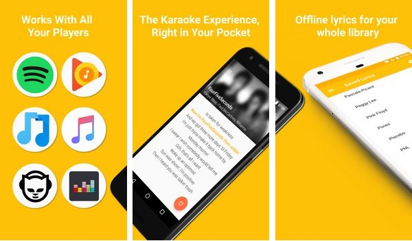 quickric instant paroles APK Android