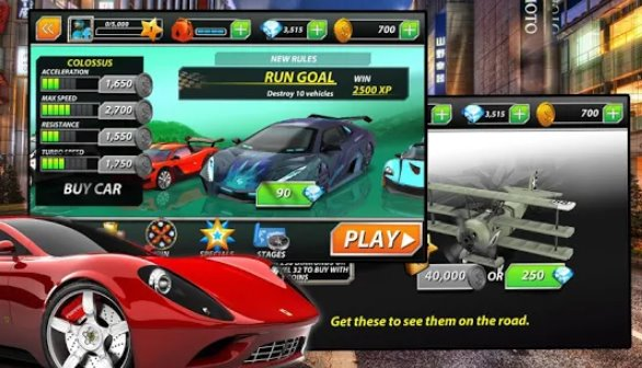 Racing Fever: Cars + MOD