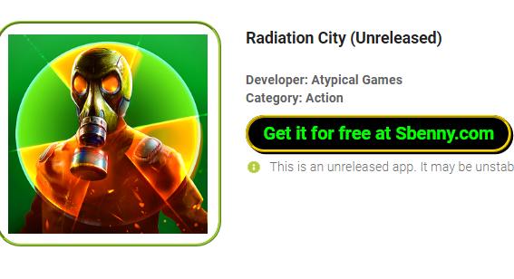 ciudad de la radiación