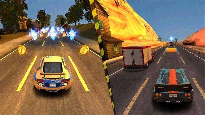 Ярость гонки 3D MOD APK Android игры скачать бесплатно