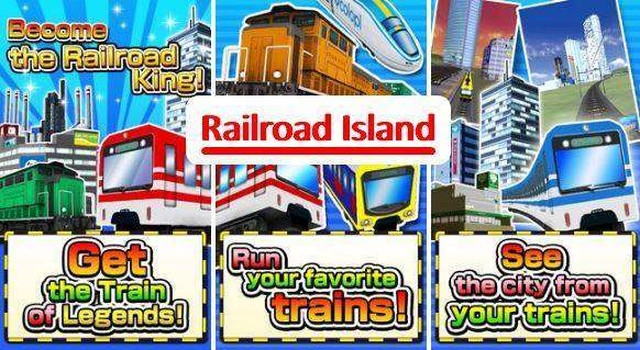 Railroad Island! MOD APK Game for Android Free Download