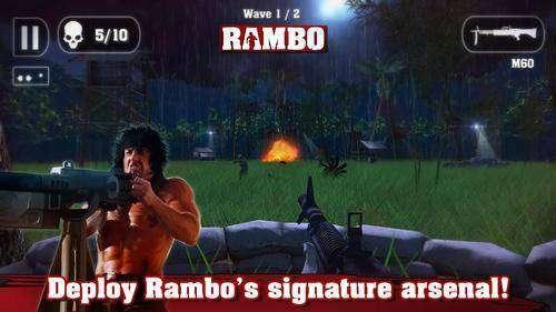 Rambo complète APK Jeu Android Télécharger