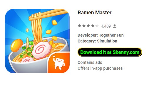 Ramen Master Unlimited Money MOD APK Android Free Download