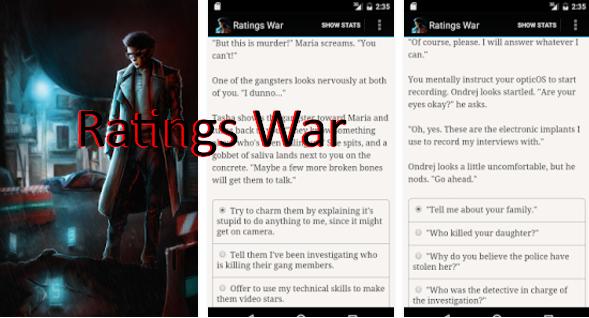 Ratings War Full Version Unlocked MOD APK Download
