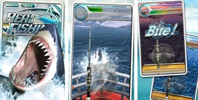 realfishing3d бесплатный APK Android