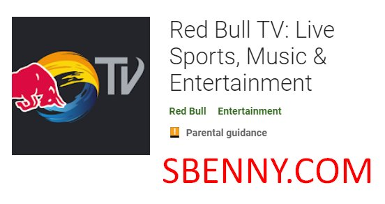 red bull tv en direct sports musique et divertissement