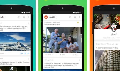 reddit top tendance contenu memes et gifs APK Android