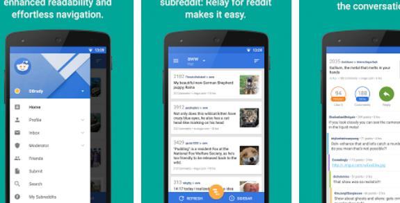 Relais für reddit pro APK Android