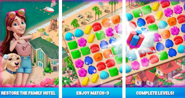 resort hotel bay story APK Android