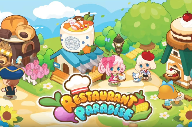 restaurant paradise sim game