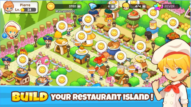 restaurant paradise sim game APK Android